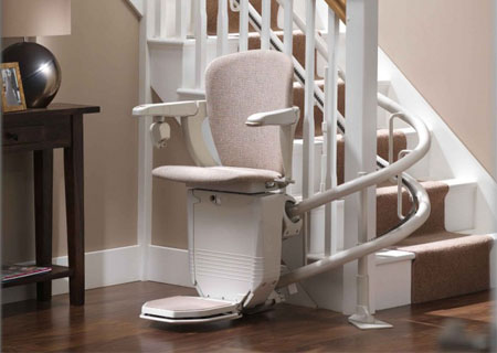 Curved Stairlift Central Pa